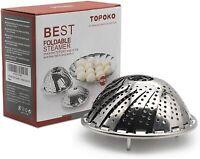 Vegetable Folding Steamer Basket Work with Instant Pot Pressure Cooker 5/6/8 QT