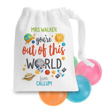 Out of the World Space Sweet Sack Gift Bag School Present End Child Year