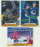 2020-21 UPPER DECK HOCKEY SERIES 1 CANVAS Pick Your Card Finish Your Set