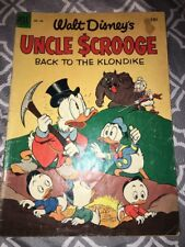 DONALD DUCK FOUR COLOR # 456 - BACK TO THE KLONDIKE Uncle Scrooge #2