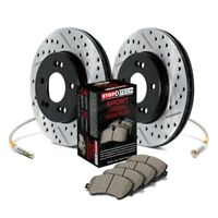 For Lexus IS300 01-05 StopTech Sport Drilled & Slotted Front Brake Kit