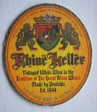 PENFOLDS RHINE KELLER WHITE WINE COASTER