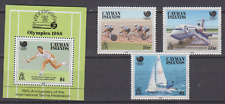 CAYMAN ISLANDS 1988 OLYMPIC GAMES SET & MINATURE SHEET MINT NEVER HINGED