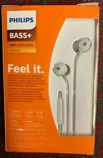 Philips BASS+ In-Ear Headphones Handsfree Calls Red SHE4305RD