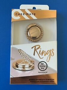 Casemate Rings - Gold Metal - Cell Phone Holder & Stand