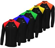 Mens Cycling Jersey Full sleeve Winter Thermal Cold Wear Fleece Top Bike racing