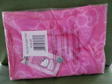 "Hello Kitty Pink Cotton Beach, Bath, Pool Towel 28"" x 58"" -New, Sealed,Tags"