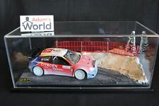 "QSP Diorama 1:18 Rallye stage in beautiful showcase type 1 ""winter"""