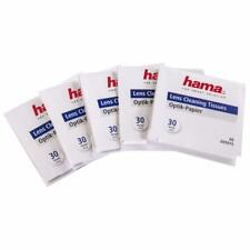 HAMA 5915 LENS CLEANING TISSUES 5 PACK OF 30 PIECES 150 TISSUE OPTIC CLEANER