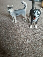 More details for schleich husky (rare/retired) bundle x2
