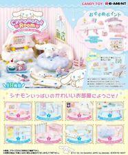 Re-ment Miniature Sanrio Cinnamoroll Room Furniture Set 720YEN Full set of 8