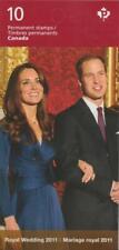 Canada 2011 - BK453 #2466 Royal Wedding - Unused