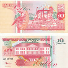 Suriname - 10 Gulden 1998 UNC - Pick 137b