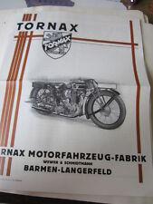 Motorrad Archiv Edition Faksimile 1041E Tornax Prospekt 1928