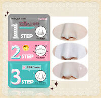 Deep Cleaning 3-step Blackhead Remover Korea Cosmetic Shrink Pores Pig Nose Mask