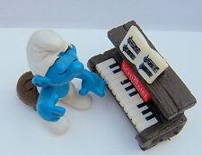 40229 super schtroumpf schtroumpfette au piano smurf puffo  puffi  SCHIMMEL rar.