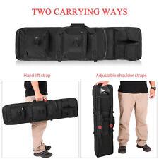 "47""/120cm Tactical Double Carbine Rifle Gun Weapons Case Bag Pack"