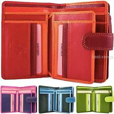 Womens Soft Leather Purse Wallet Multi Colours Visconti New in Gift Box RB51