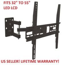 Full Motion Articulating TV LCD LED Corner Wall Mount 32 42 47 49 50 55 60 65 70