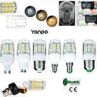 E27 E12 E26 E14 G9 GU10 7W LED Corn Bulb Light 5730 SMD Lamp 110V 220V 12V 24V