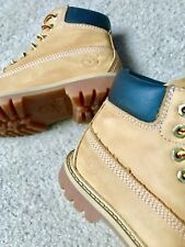"""TIMBERLAND 5.5"""" PREMIUM LEATHER WHEAT WATERPROOF BOOT TODDLER SIZE 10M (12809)"""