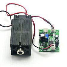 Focusable 405nm 50mw Bule/Violet Laser Dot diode Module +TTL +Fan long time work