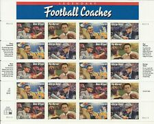#3143-6 - 32¢ Football Coaches Issue Mnh Sheet of 20 Fv $6.40