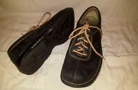 Merrell World Summit Mens Black Leather Casual Oxford Shoes Sz 9.5