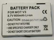 3.7V 600mAh Lithium-Ion Replacement Battery for Motorola V3