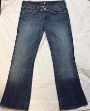 """7 FOR ALL MANKIND """"A"""" Pocket # U130055U-055U Cut# 710713 Women's Jeans Sz 27 P14"""