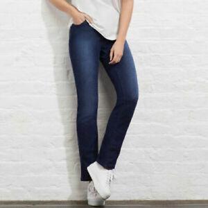 AVON Ladies Womens Stretchy Comfort Denim Jeans Slim Fit Leg Size 8 14 18 22 24