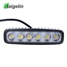 18W Spotlight LED Car Light Bar Waterproof LED 12V Car Work Light Bulbs For Cars