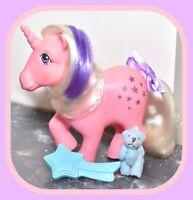 ❤️My Little Pony MLP G1 Vintage 1983 Unicorn Ponies Twilight & Original Brush❤️