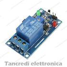 Modulo scheda 1 relè 5V 5Vdc 10A termico temperatura termistore relay sensore