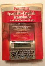 Franklin Tes-120 English-Spanish Translator
