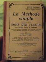 2715 Figures Gaston Bonnier Méthode pour Trouver les Noms des Fleurs Botanique