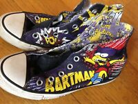 Chuck Taylor Converse All Star The Simpsons BartMan Bart Man Shoes Sneakers