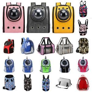 Pet Travel Backpack Breathable Outdoor Travel Cat Dog Carrier Bags Accessory AU