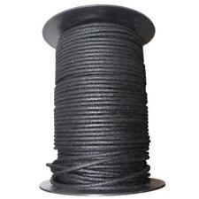 1m Algodón Trenzado Eléctrico Del Automóvil Cable 12 Gauge Negro