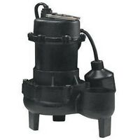Goulds Ps51p1 1 2hp Submersible Sewage Pump 115v Auto Ebay