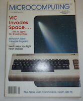 Microcomputing Magazine VIC Invades Space January 1983 111314R