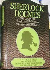 Sherlock Holmes: Complete Illustrated Novels by Doyle, Sir Arthur Conan Hardback