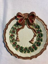 Fitz & Floyd Christmas Essentials Noel Collection Dish 7""
