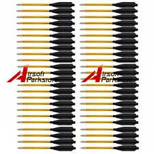 x48 Arrow Aluminum Metal Arrows For 50 80 lbs Pistol Crossbow Accurate Arrow Bow
