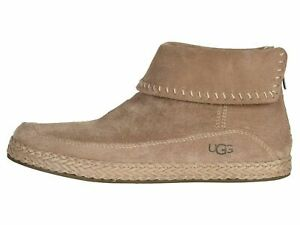UGG Varney Amphora Women's Suede Moccasin Ankle Boho Booties 1104653