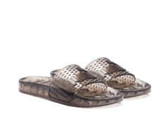 d611f509498ef9 PUMA Womens Fenty by Rihanna Black Jelly Slide 36577302 Sandals Shoes 7.5