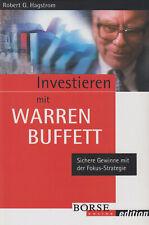 Investieren mit Warren Buffett - Robert Hagstrom Börse Aktien Wirtschaft