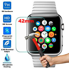 PROTECTOR DE CRISTAL TEMPLADO PARA APPLE WATCH 42MM TEMPERED GLASS IWATCH