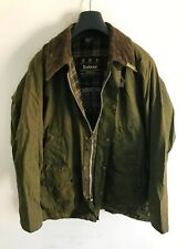 Mens Barbour Bedale wax jacket Green coat 44in size Large / Extra Large L/XL #6