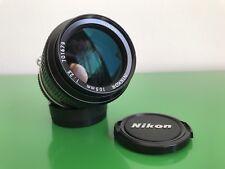 Obiettivo Nikon Nikkor 105mm 2,5 ai MF TORNESE teleobiettivo